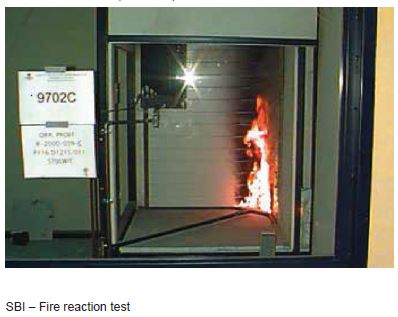 Reaction to fire